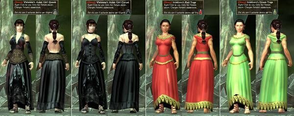 -Dress- Vivienne's Asian Girls IronLore's Toga