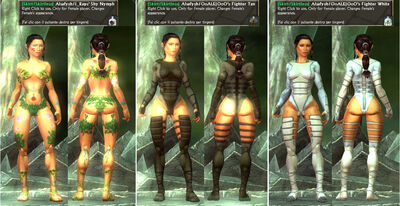 -Skirt-Skirtless- Alsafysh-I Raps' OoALEIOoO's Nymph-Fighter