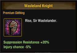 Tlsdz wasteland knight