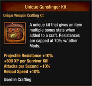 Unique Gunslinger Kit