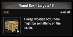 Wood Box - Large