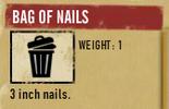 Tlsuc bag of nails