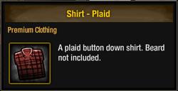 TLSDZ Shirt - Plaid