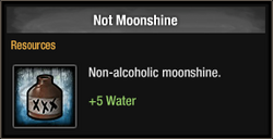 Not Moonshine