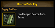 Beacon Parts Key