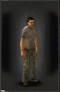 Military Pants - Khaki equipped male