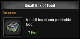 Small Box of Food