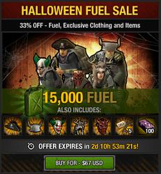 Tlsdz Halloween Fuel Sale 15000