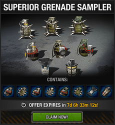Tlsdz superior grenade sampler