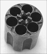 Cylinder sixshooter