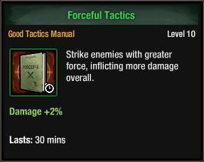 Forceful Tactics