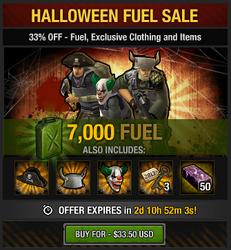 Tlsdz Halloween Fuel Sale 7000