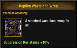 Replica Wasteland Wrap