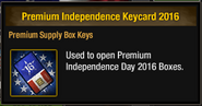 Premium Independence Keycard 2016