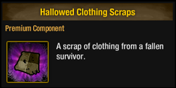 Hallowed Clothing Scraps