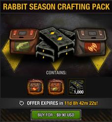 Rabbit Season Crafting Pack