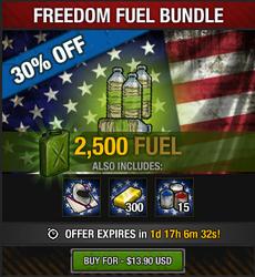 Freedom Fuel Bundle