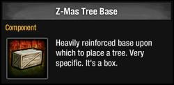 Z-Mas Tree Base