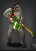 Survivor green gun