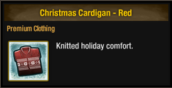 Christmas Cardigan - Red