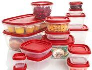 Food plastic storage