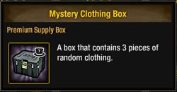 Tlsdz mystery clothing box