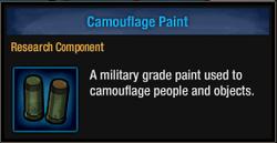 Camo paint