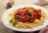 Getty rf photo of penne pasta