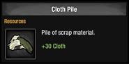Cloth Pile