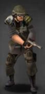 Survivor with scoped Manning AS Pistol