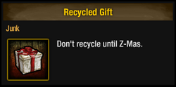 Recycled Gift