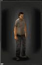 TLSDZ Jeans - Black equipped male
