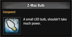 Z-Mas Bulb 2015