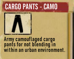Cargo Pants - Camo