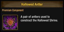 Hallowed Antler
