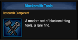 Blcksmith tools