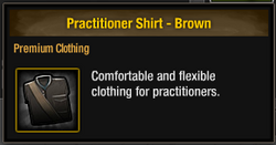 Practitioner Shirt - Brown
