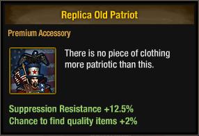 Replica Old Patriot