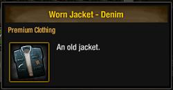 Worn Jacket - Denim