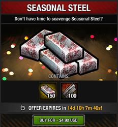Tlsdz seasonal steel package