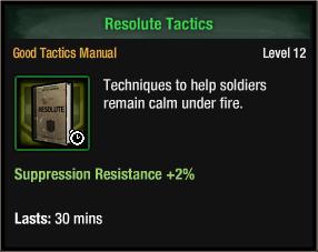Resolute tactic