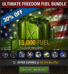 Ultimate Freedom Fuel Bundle