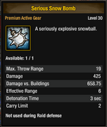 Tlsdz serious snow bomb