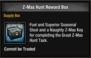 Z-Mas Hunt Reward Box in inventory