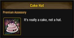 Tlsdz cake hat