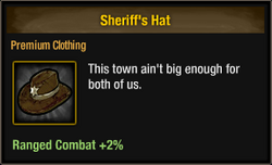 Sheriff's Hat