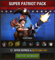 Tlsdz super patriot pack