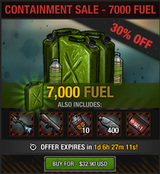 Containment Sale - 7000 fuel