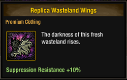 Tlsdz replica wasteland wings