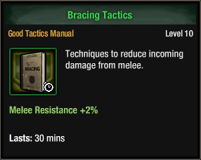 Bracing Tactics